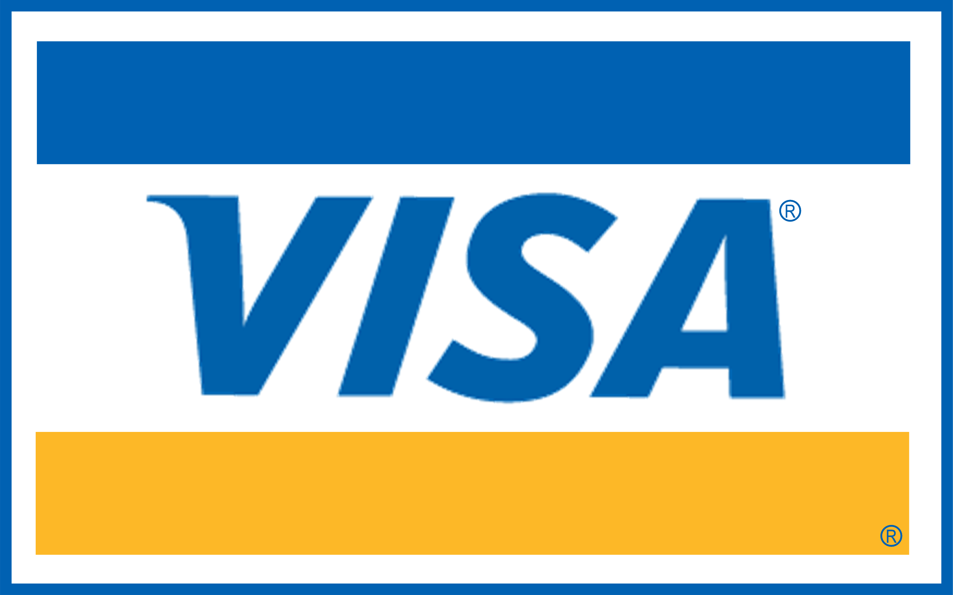 Visa bankkártya