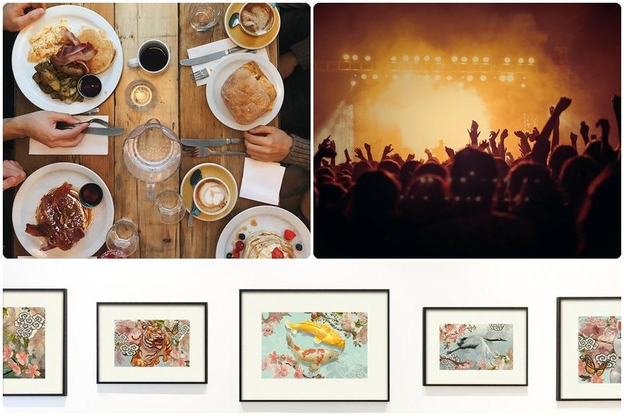 Gasztro fesztivál, koncert, kultúra
