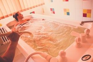 szénsavas fürdő